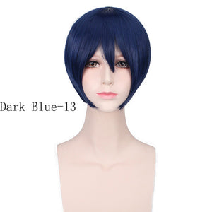 Cheap Halloween Costume Anime Cosplay Wig Short