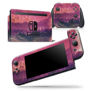 Dark v2bsorbed Watercolor Texture - Skin Wrap Decal for Nintendo