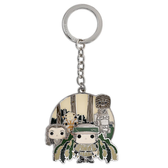 Funko Pop! By Loungefly : Star Wars Endor Group Enamel Keychain