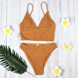 Magnificent Women Beachwear Sandy Beach Padded Bra