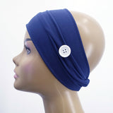 Twist Buttery Soft Button Headband