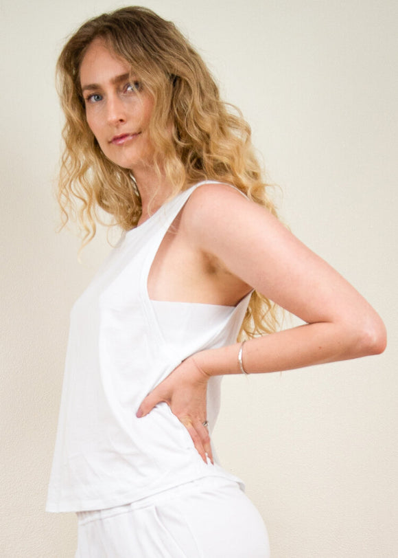 ALYA TANK - Eco Ethical Fashion Made in LA