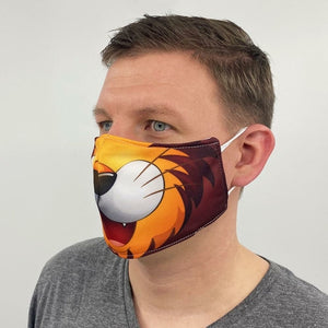 Lion Face Cover