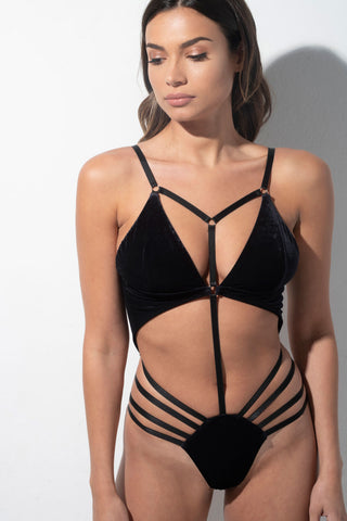 Glamazon Bodysuit - Black
