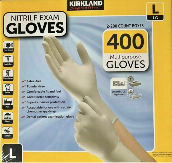 Nitrile Exam Chemo Rated (400 gloves per case)