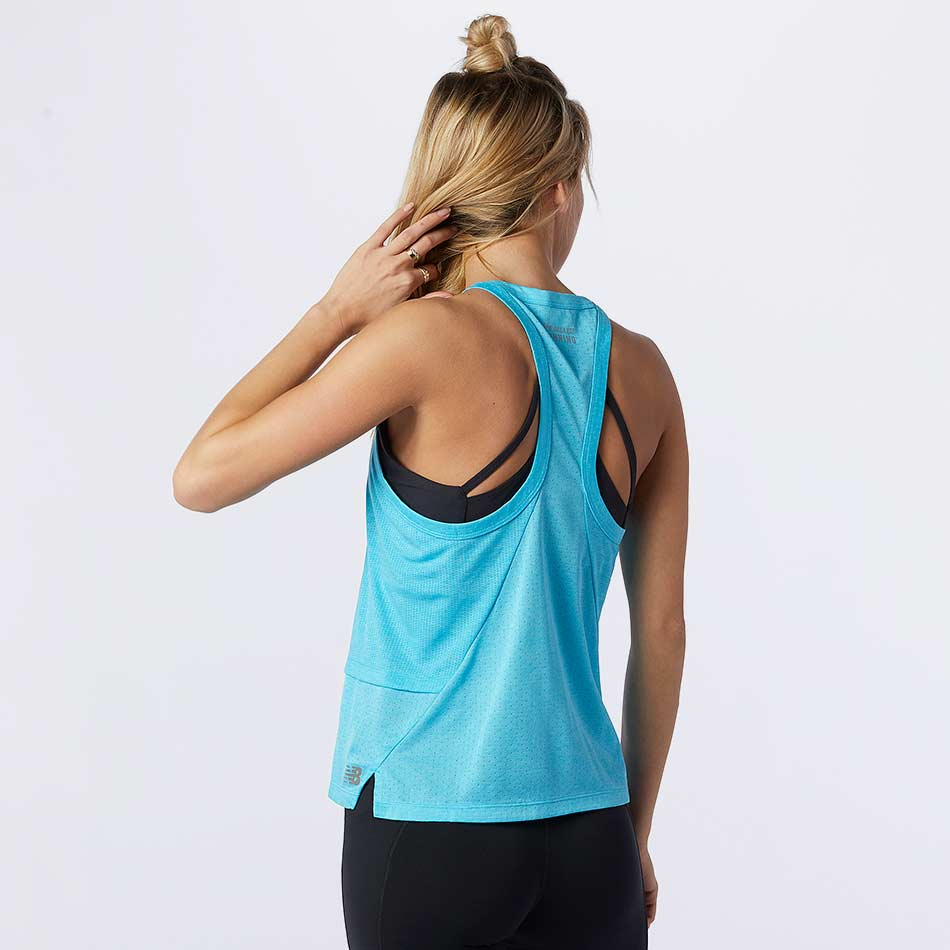 New Balance Women's Printed Impact Run Hybrid Tank SS21