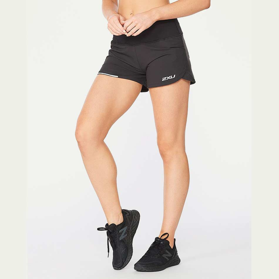 2XU Women's Aero 4 Inch Short Black SS21