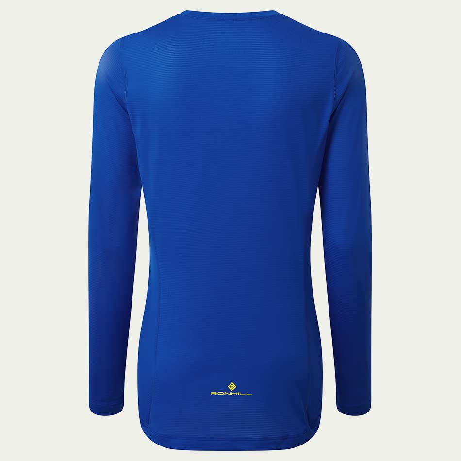 Ronhill Women's Tech L/S Tee Blue SS21