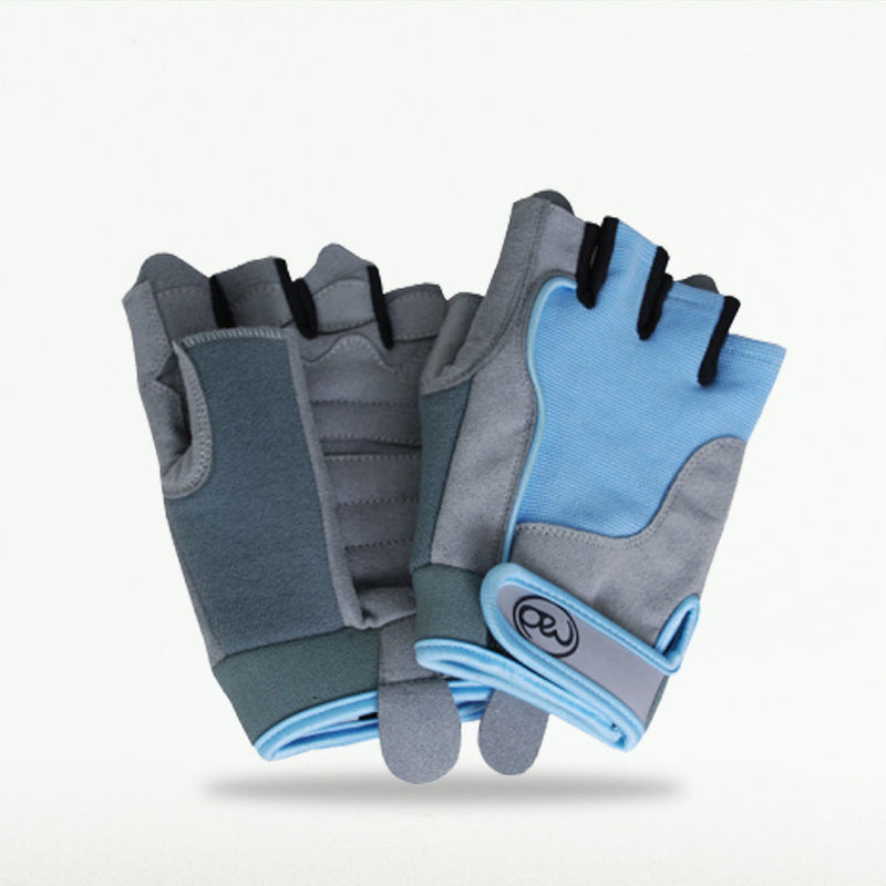 Fitness Mad Womens Cross Training Gloves Blue