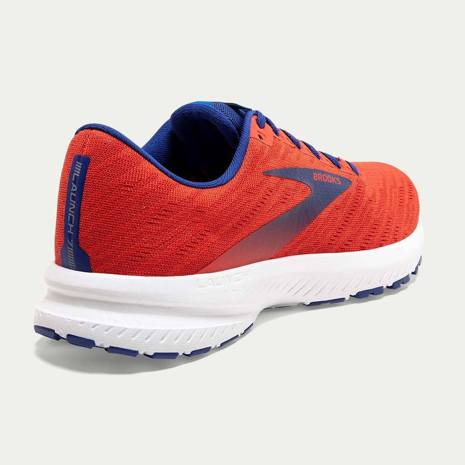 Brooks Men's Launch 7 Red D Width SS20