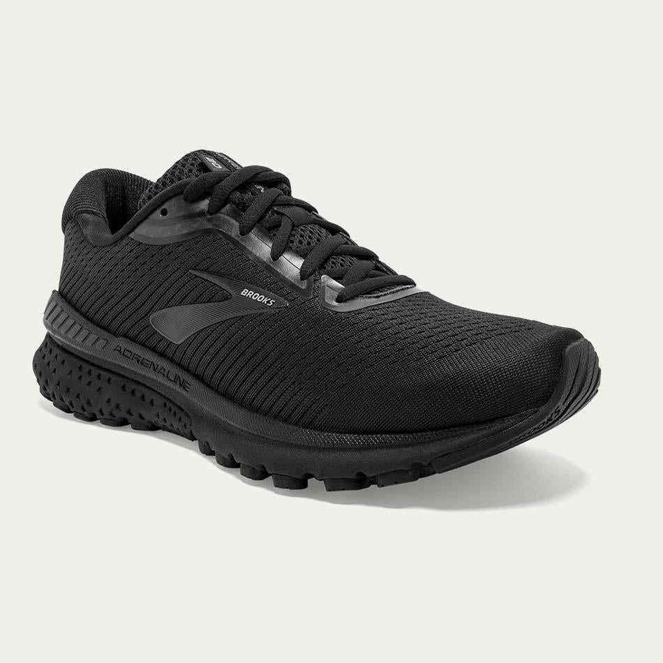 Brooks Ladies Adrenaline GTS 20 All Black D Width SS20