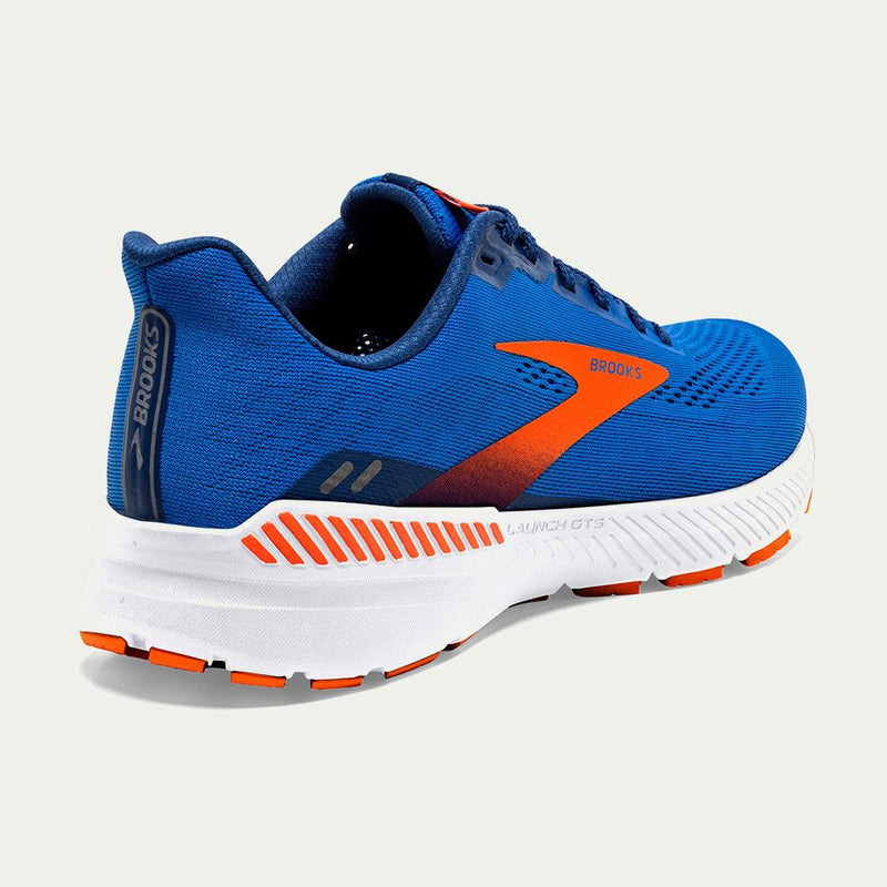 Brooks Men's Launch GTS 8 Blue D Width SS21