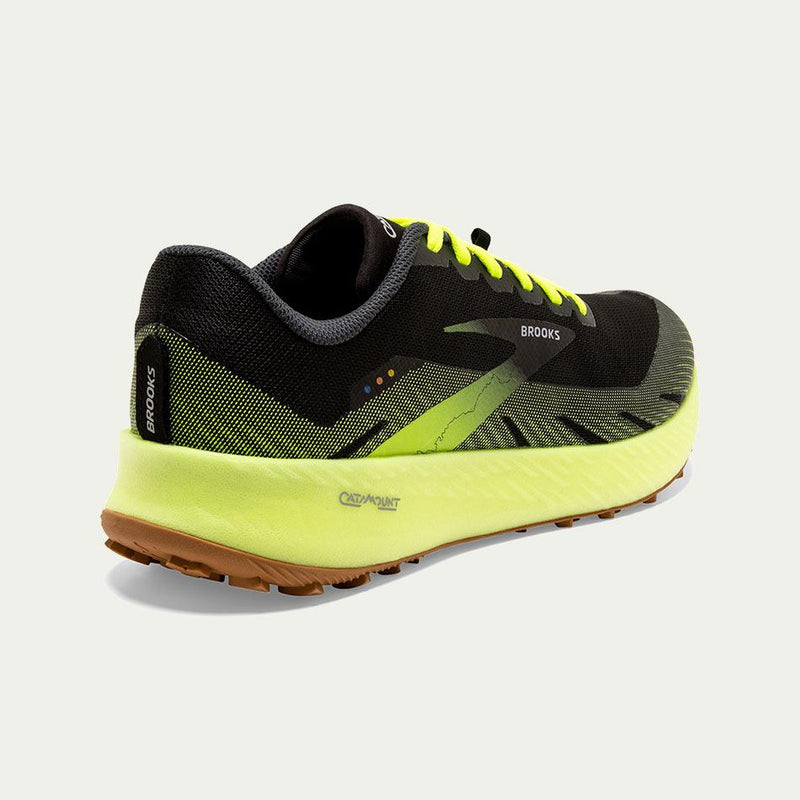 Brooks Men's Catamount Green D Width SS21