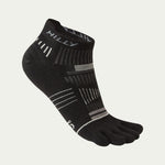Hilly Unisex Toe Socklet Black