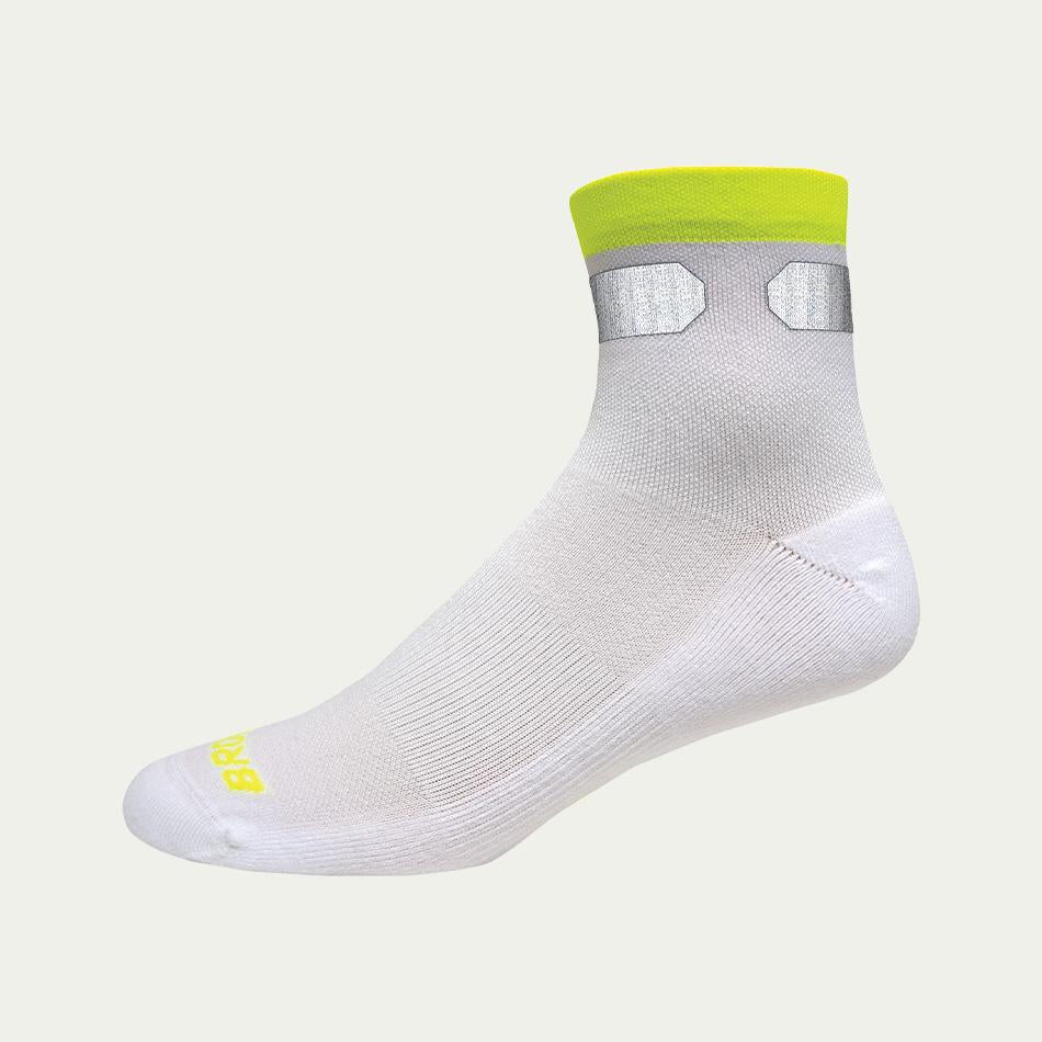 Brooks Carbonite Sock White AW20