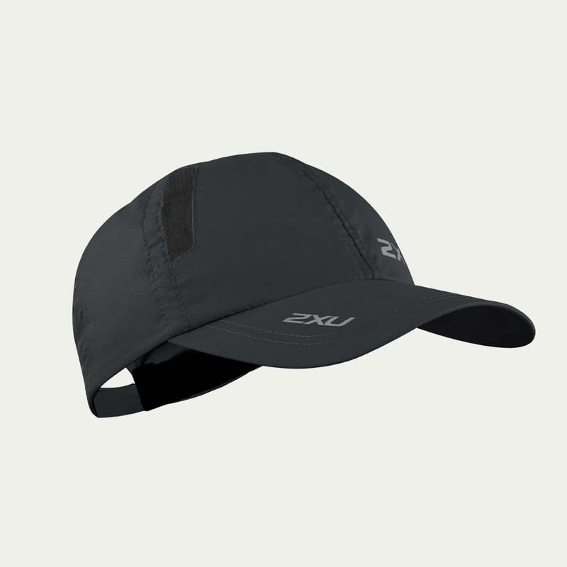 2XU Run Cap Black