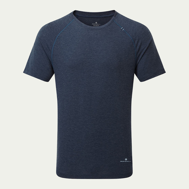 Ronhill Men's Life Tencel SS Tee Blue AW20