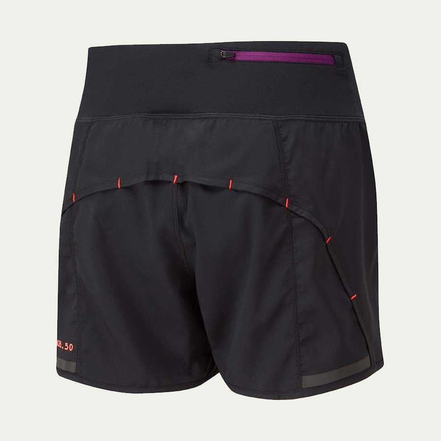 Ronhill Women's Stride Revive Short Black/Coral SS20