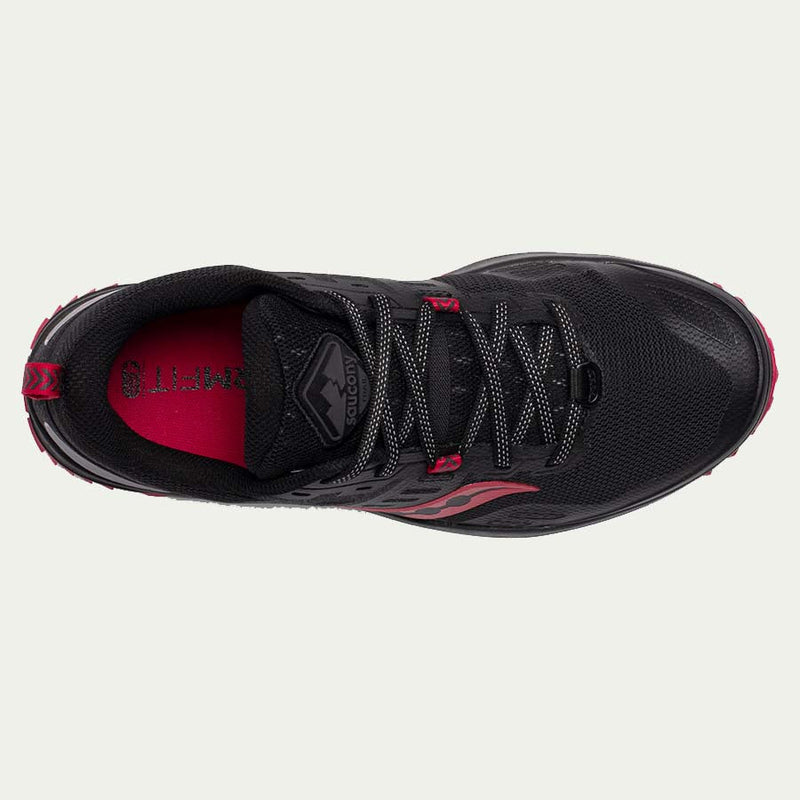 Saucony Ladies Peregrine 10 Black / Barberry SS20