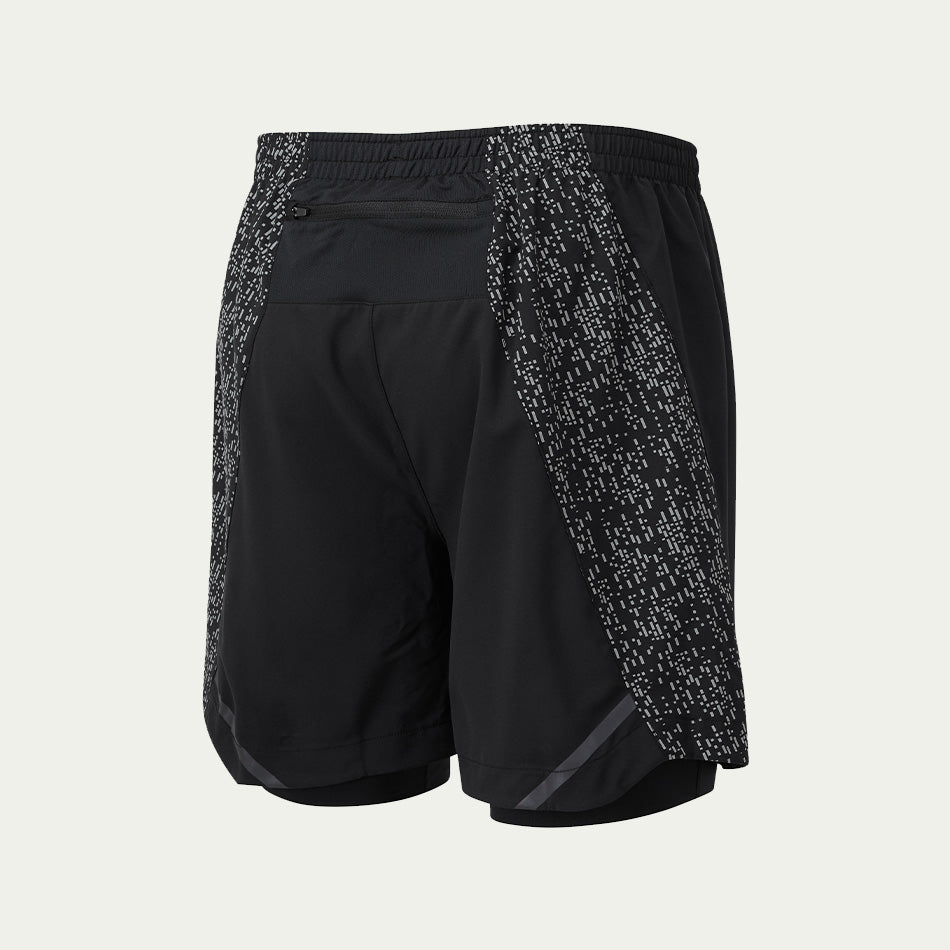 "Ronhill Men's Life Night Runner 5"" Twin Short AW20"