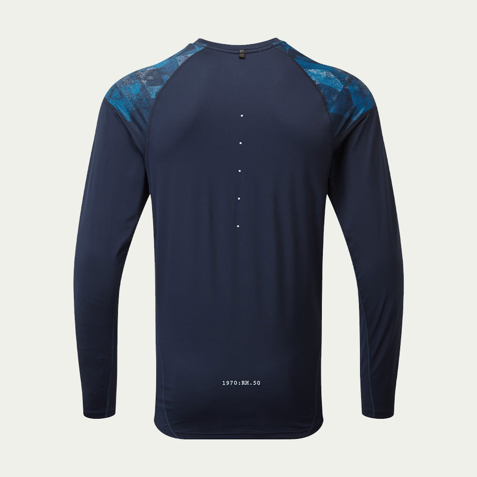 Ronhill Men's Tech Revive LS Tee Navy AW20