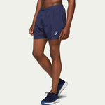 "Asics Men's Silver 5"" Short Blue AW20"