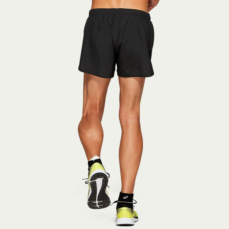 Asics Men's Silver Split Short Black AW20
