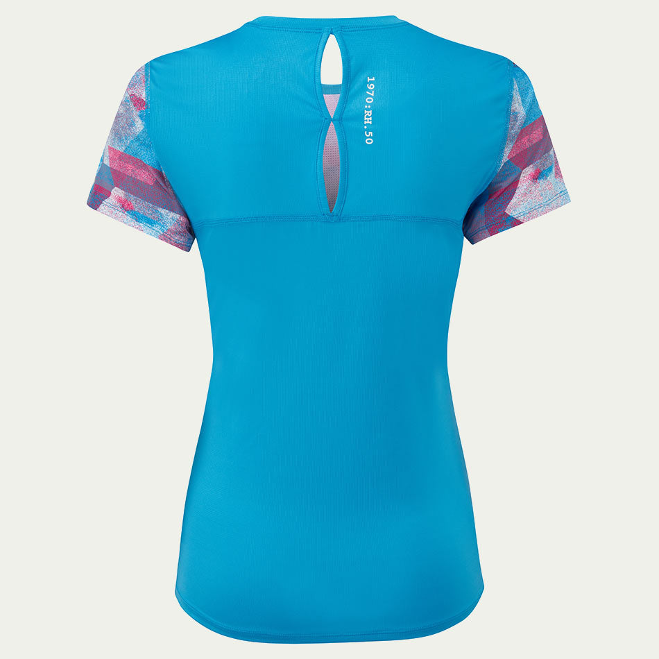 Ronhill Women's Stride Revive SS Tee Blue SS20
