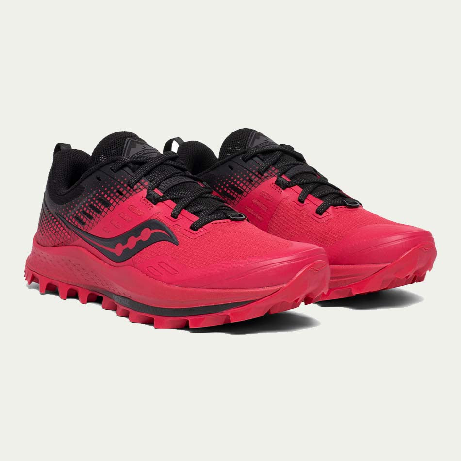Saucony Men's Peregrine 10 ST Red / Black SS20