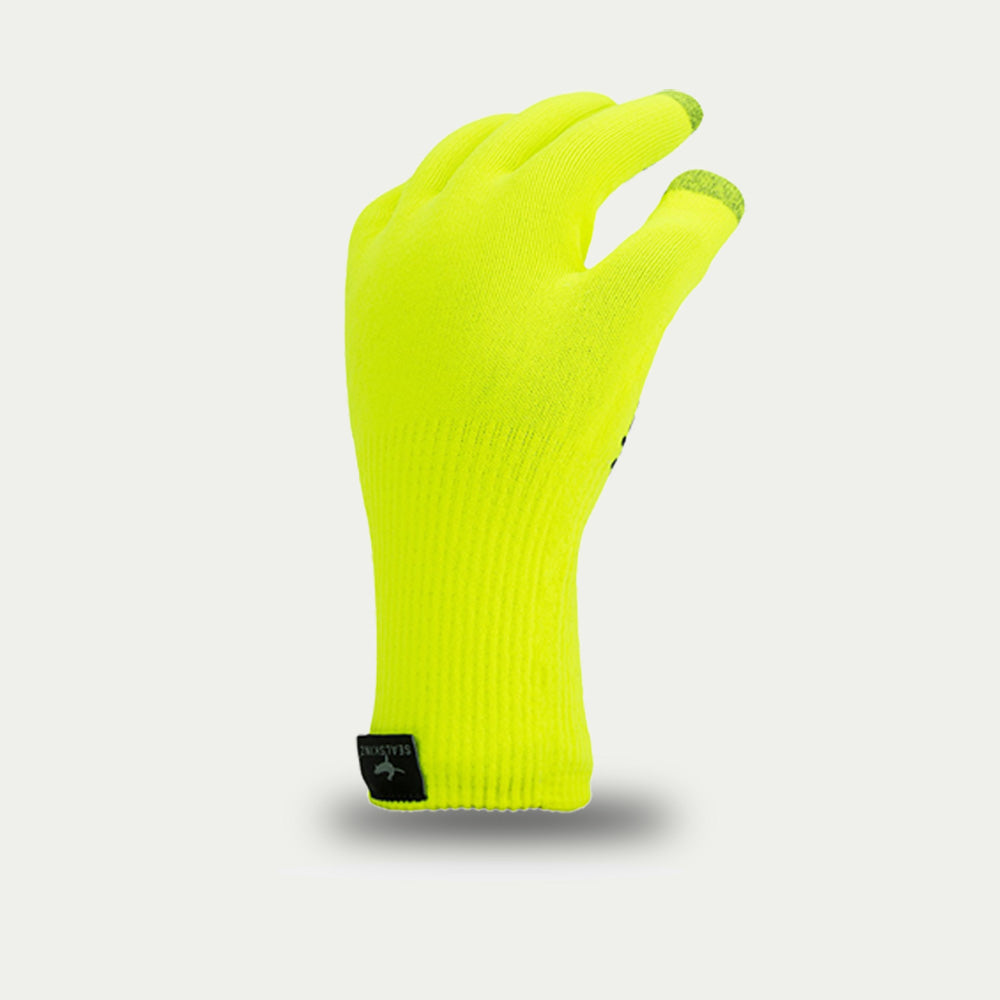 Sealskinz Ultra Grip Gloves Yellow