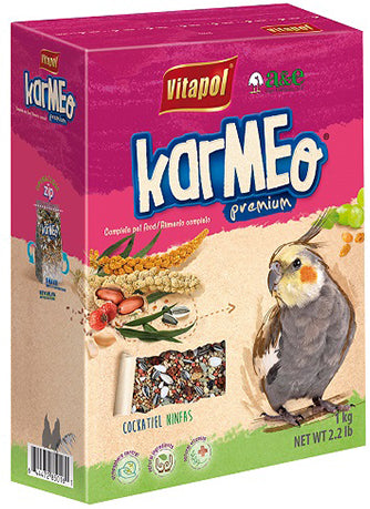 KARMEO Premium Food for Cockatiel 2.2lb (zipper bag)