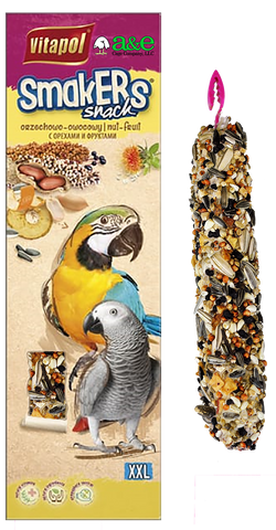 Parrot XXL SMAKERS Treat Sticks (Twin Pack) - NUT