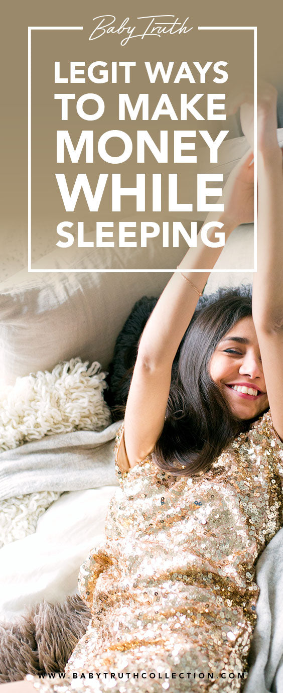 Legit Ways to Make Money While Sleeping by Baby Truth: The following are the best passive income streams that you can do without tying yourself to regular hours and instead of making money in the long-run.