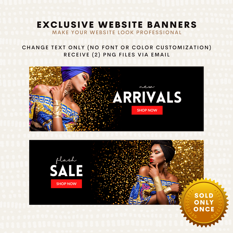 2 (Beauty) Exclusive Website Banners - Baby Truth