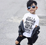 Voted #1 Affordable Funny Toddler Graphic Tees, Ain't a Woman Alive Tee | Baby Truth - truth-collection