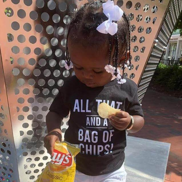 All That And A Bag Of Chips Baby Tee