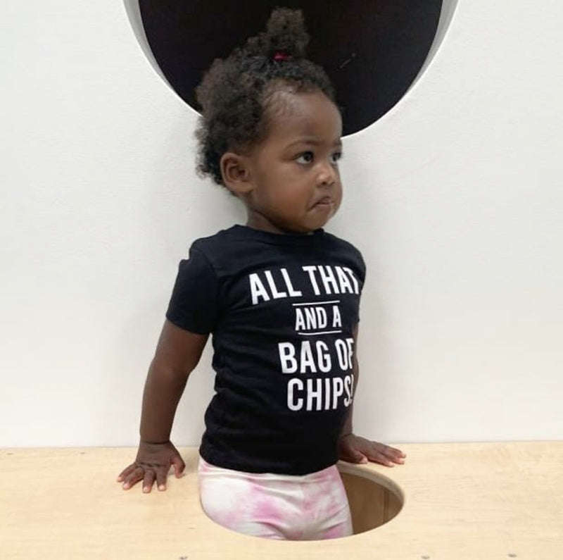 All That And A Bag Of Chips Baby Tee - Baby Truth