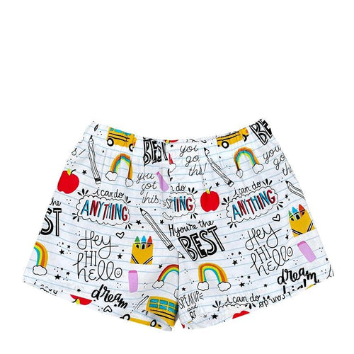 Back To School Toddler Boxer Shorts - Baby Truth