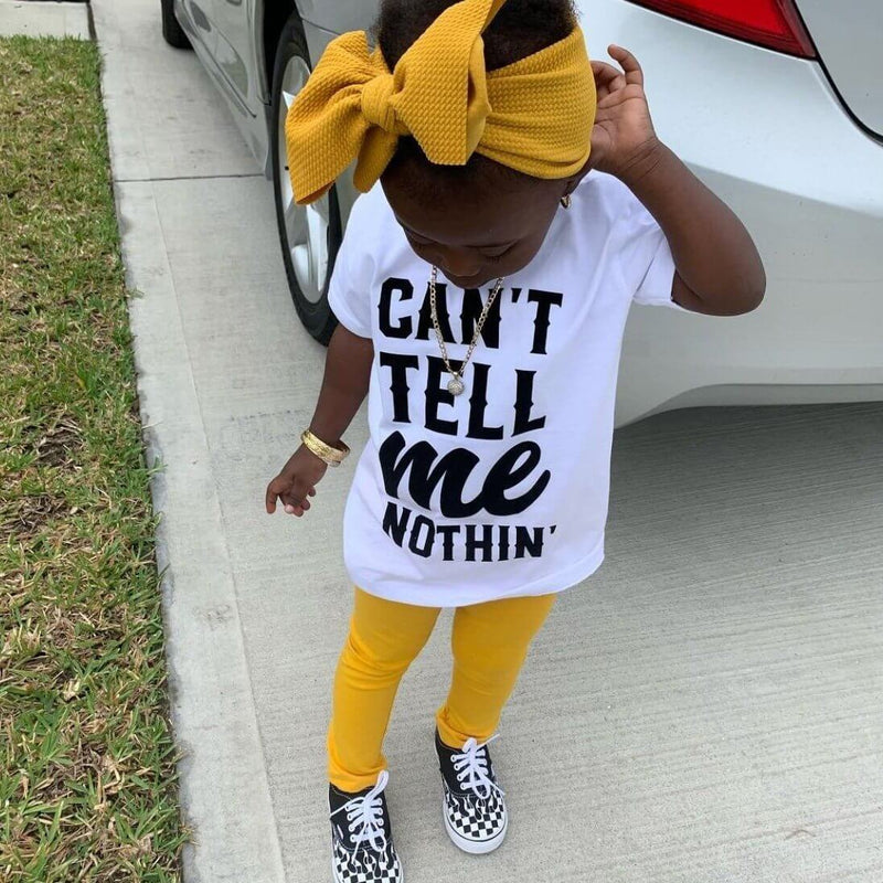 Can'T Tell Me Nothin Tee - Baby Truth