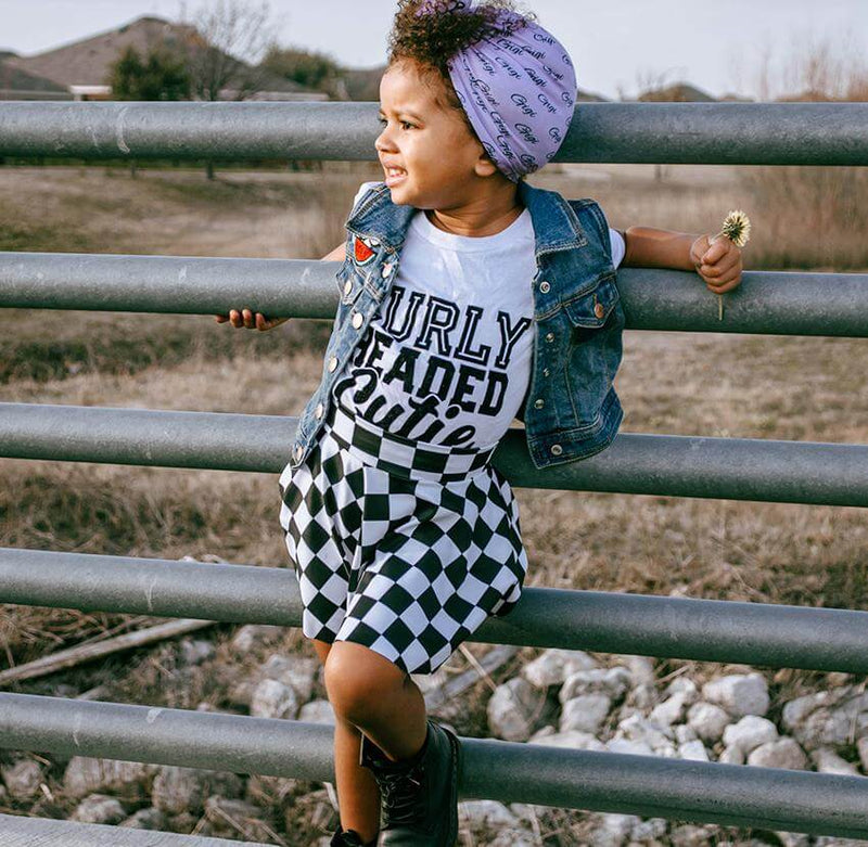 Curly Headed Cutie Tee (Curly Toddler) - Baby Truth