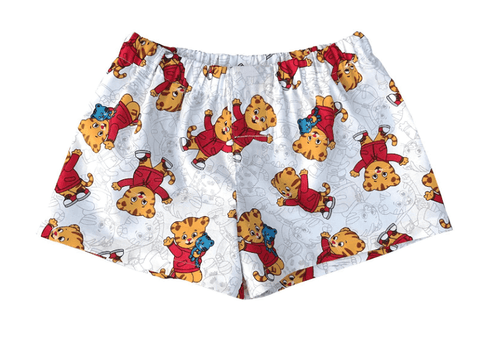 Daniel Tiger On White Little Boys' Toddler Boxer Shorts - Baby Truth