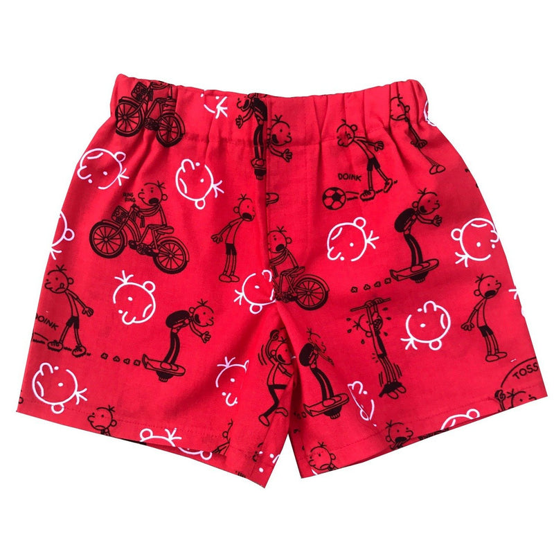 Diary Of A Wimpy Kid Toddler Shorts - Baby Truth