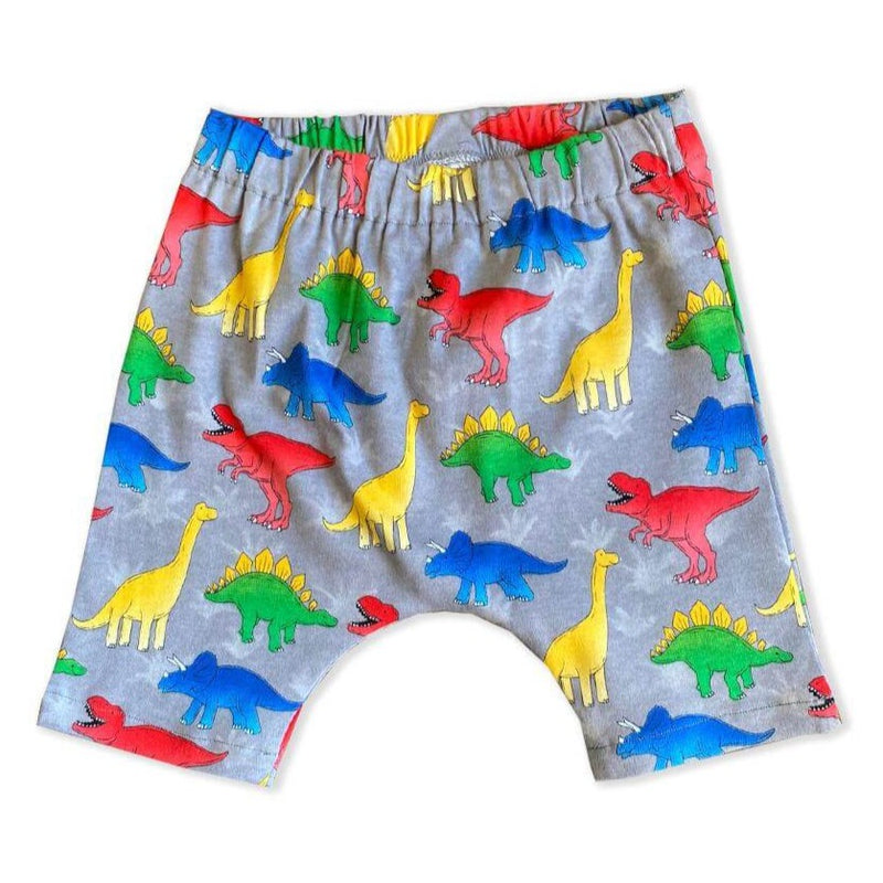 Dinosaur Hipster Toddler Harem Shorts - Baby Truth