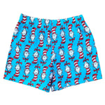 Dr Seuss Cat In The Hat Blue Boy Boxer Shorts