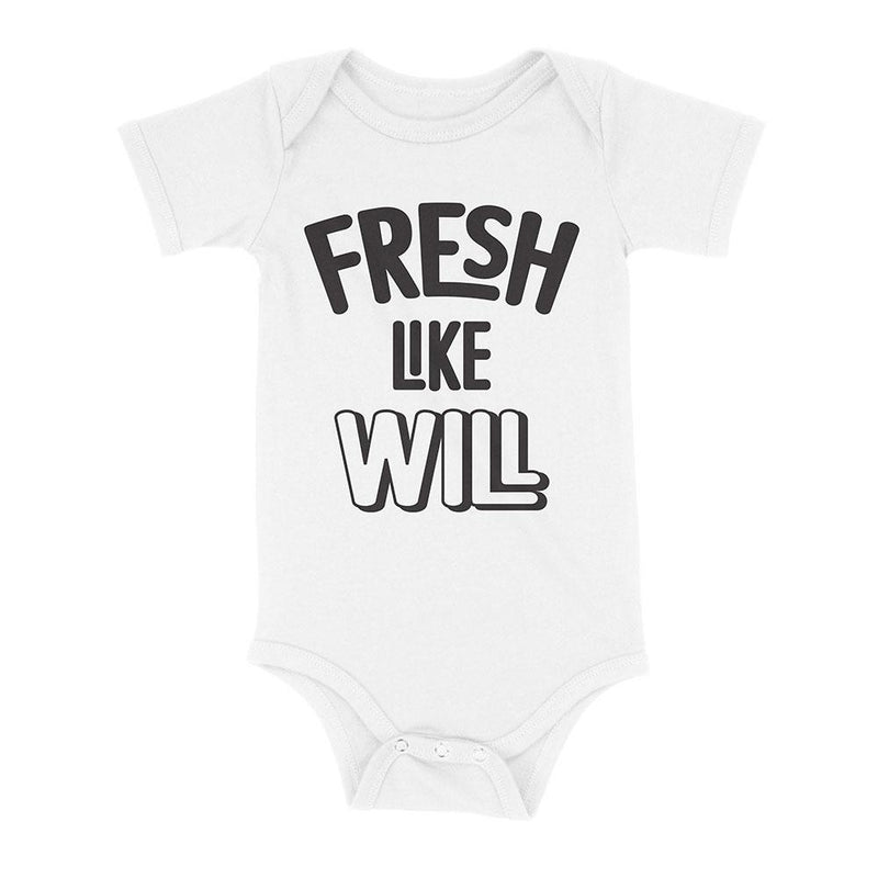 Fresh Like Will Baby Onesie - Baby Truth