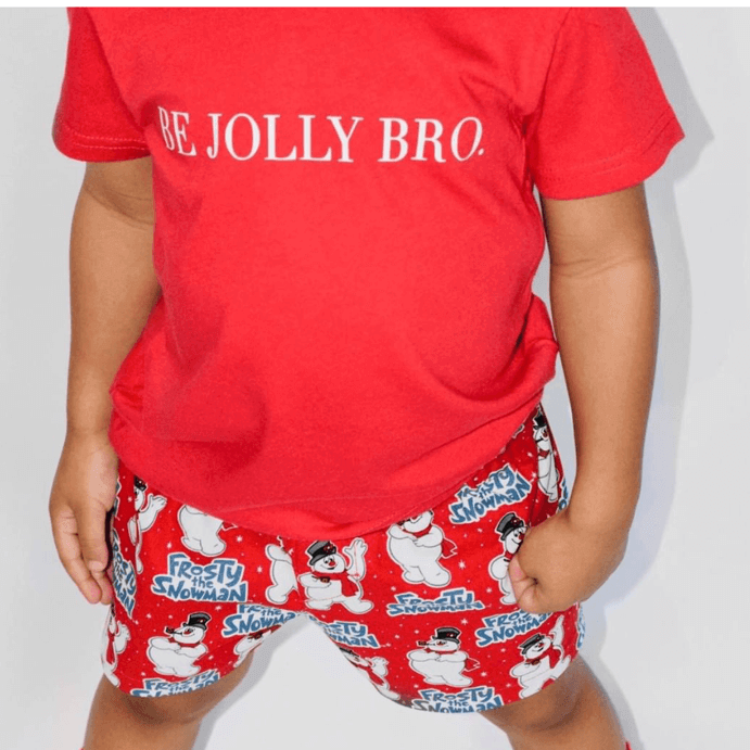 Frosty The Snowman Christmas Kid Shorts - Baby Truth