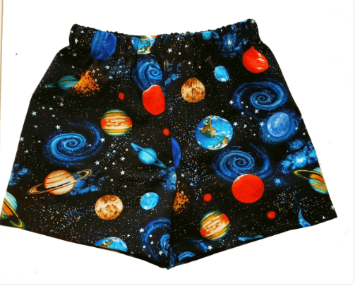 Galaxy Boy Space Boxer Shorts - Baby Truth