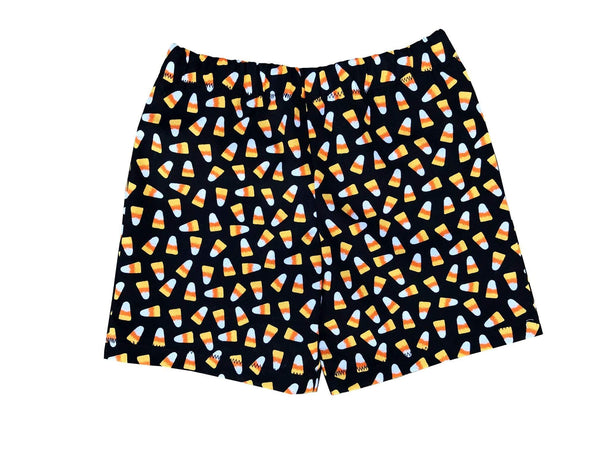 Halloween Candy Corn Boys/Girls Toddler Shorts 2t, 3t, 4t - Baby Truth