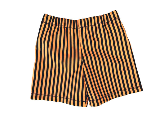 Halloween Stripes Toddler Boys Shorts - Baby Truth