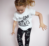 Shirts for Kids Girls - I Still Live With My Parents Tee | Baby Truth - truth-collection